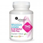 Witamina B Complex B-50 Methyl TMG PLUS 100 kaps. Aliness