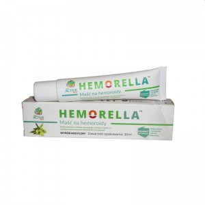 Hemorella - maść na hemoroidy 30ml - BioActive-Tech