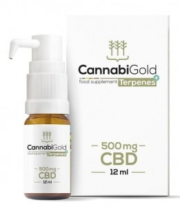 CannabiGold Terpenes+ 500mg CBD 12ml - HemPoland