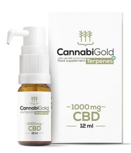 CannabiGold Terpenes+ 1000mg CBD 12ml - HemPoland