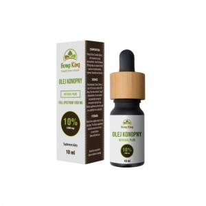 Olej CBD Natural Plus 10% (1000mg) – 10ml HempKing