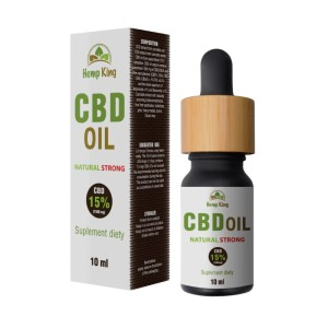 Olej CBD Natural Strong 15% (1500mg) – 10ml HempKing