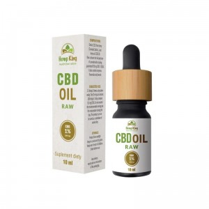 Olejek CBD 1% RAW (100mg) 10ml  - HempKing