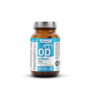 Optikan™ wzrok 30 kaps. - pharmovit