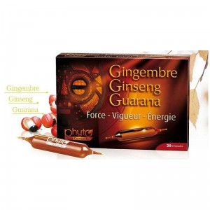 Ginseng Gingembre Guarana 20 ampułek  - 200ml