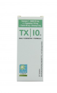 Koenzym 1 NADH  TX10 + L-tryptofan - 30 tabletek - Life Light