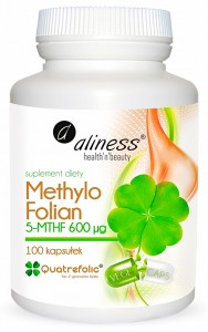 Methylo Folian 5-mthf 600 μg x 100 kaps. Aliness