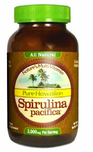 Spirulina Hawajska Pacifica 1000 mg (180 tabletek) Cyanotech